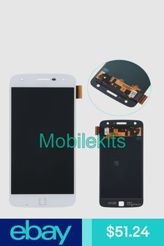 Ebay Sponsored Silver Lcd Screen Touch Digitizer Assembly For