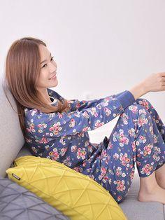 Banibella Jasmine Flowers homewear sleepwear / cotton 100% / the best quality