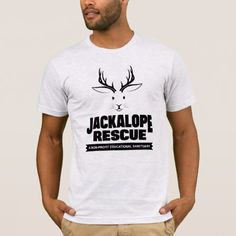 Jackalope Rescue T-Shirt - tap, personalize, buy right now!