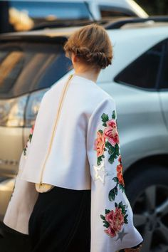 Street style at Tbilisi Fashion Week Spring 2017