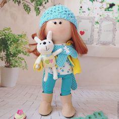 Handmade fabric doll / Интерьерные куклы по акции до 14 июня - комбинированный, интерьерная кукла, интерьерная кукла купить