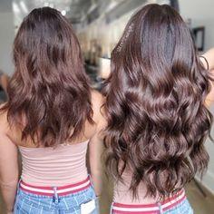 Permanent Hair Extensions, Brown Hair Extensions, Tape In Hair Extensions, Red Brunette Hair, Brown Tape, Hair Tape, Natural Hair Styles, Long Hair Styles