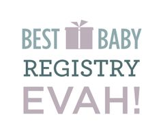 I absolutely LOVE BabyList.  It's a baby registry that allows you to register for exactly what you want  from anywhere online. All you have to do is install the browser button and  as you come across something you like the look of, just click and it's  added to your list.  Is this not brilliant like David Beckham's bum? I know, right!  You can register for the usual like car seats and Jolly Jumpers but then  you can also register for other awesome stuff like, I don't know, house  cleaning…