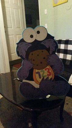 Cookie Monster,  yum yum cookie!