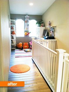 012113_playroomafter.jpg above front door.  would love this.  or make a closet for S