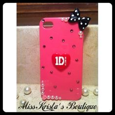 Iphone 4 One Direction Case! :)