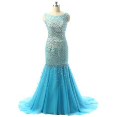 Tailor-Made \'Alexi\' Dress £229.99 Sizes 6-22 available + \'custom-size\' Choice of 100 colours Sheer Sparkle Design Organza, Netting, Jewels Sequins & Beading Please Allow 60 days to receive @ www.tailorwedding.com