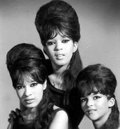 The Ronettes, a girl group consisting of lead singer Veronica Bennett (a.k.a. Ronnie Spector), her sister Estelle Bennett, and their cousin Nedra Talley. The were best known for their work with producer Phil Spector. Their most famous songs include Be My Baby, Baby, I Love You, (The Best Part of) Breakin' Up, and (Walking) in the Rain. They were inducted into the Rock and Roll Hall of Fame and into the Vocal Group Hall of Fame.