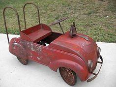 Original Vintage Chrysler  Steel Craft Air Flow Pedal Car