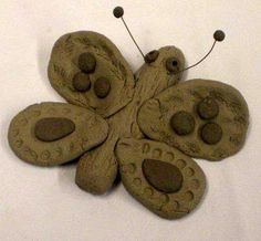 Oogly: Butterflies of Clay - An easy kid's project
