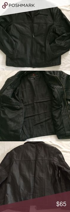Luis Albert Barcelona Coat Sz S Genuine Leather Preowned Great Condition Luis Alvear Jackets & Coats