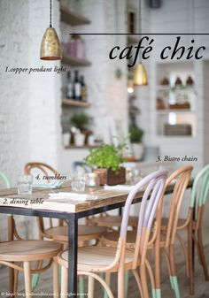 3 looks to create an inviting dining area in your home: Café Chic