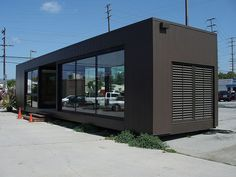 Container House - Awesome Shipping Container Restaurant Plans - Who Else Wants Simple Step-By-Step Plans To Design And Build A Container Home From Scratch? Building A Container Home, Container Buildings, Container Architecture, Container House Plans, Container House Design, Micro House Plans, Little House Plans, Shipping Container Office, Shipping Container Home Designs