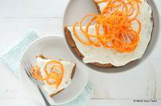Worteltaart met zoete frosting van ricotta - Mind Your Feed