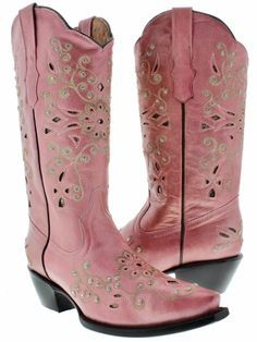 COWGIRL LACE BEADED RHINESTONES BOOTS - Google Search