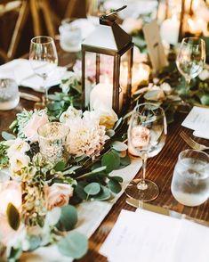 """152 Likes, 4 Comments - hitched (@hitcheduk) on Instagram: """"Table decor inspo!  Image - My Pretties UK⠀ -⠀ -⠀ -⠀ #weddingdecor #weddingdecoration #decor…"""""""