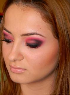 Black Eye Makeup needs a perfection and practice, if you commit a little bit of mistake in blending or applying of eye shades then it give the fear looks.