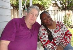 Having fun at a back yard party at a friends home...2013