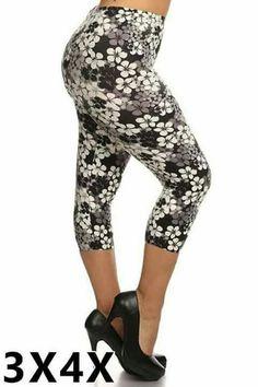 Plus Leggings, 3x-4x leggings