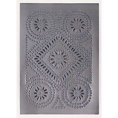 Cabinet Panel Diamond Design Insert Metal Tin Punched Country Pie Safe | eBay