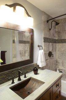 Bath Remodel - contemporary - bathroom - los angeles - by Colours & Concepts Interior Design/Build