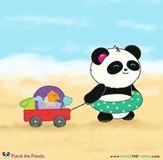 Pandi At The Beach