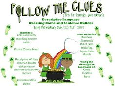 Follow the Clues: St Patrick's Day Edition (A Descriptive