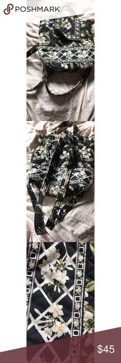 Beautiful Vera Bradley book bag Beautiful Vera Bradley book bag, gently used Vera Bradley Bags Backpacks
