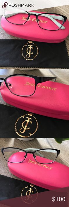 JUICY COUTURE glasses practically new. 52-17-135 JUICY COUTURE glasses practically new. Size 52-17-135 Juicy Couture Accessories Glasses