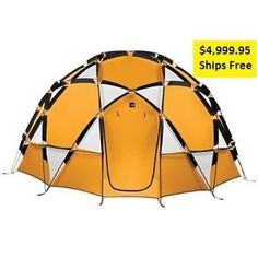 North Face 8 person Tent, awesome looking, fits 8 with good space still.  Check it out, $4999.95