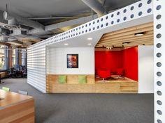 Mozilla : des bureaux qui laissent circuler la lumière et les idées