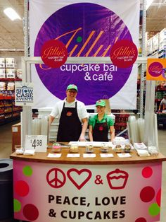 Jillys pop up shop is at the lemay SAMs club today and through the weekend!  Pick up our everyday delights while getting your chores done! #cupcakesup