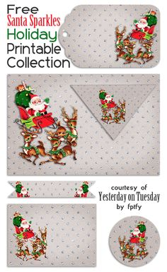 Santa-Sparkles-Christmas-Printables-from-Yesterday-on-Tuesday