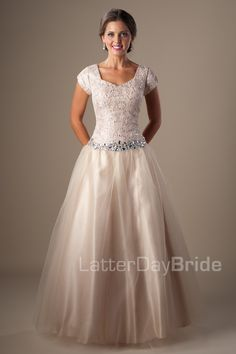 Modest Prom Dresses : Naomi
