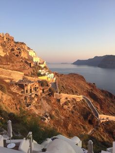 My view from Santorini. : pics