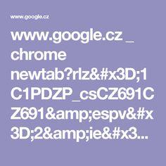 www.google.cz _ chrome newtab?rlz=1C1PDZP_csCZ691CZ691&espv=2&ie=UTF-8
