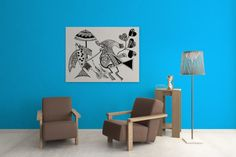 A Vicious Reality of Nature THE TRUE EMPEROR Mggk by Mggkarthouse #designer #art #inkart #indianart #pendesigns #handdesigned #zentangle #abstract #designer #unique #royalart #bird #black #white #mandana
