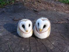 Handmade By November: owls