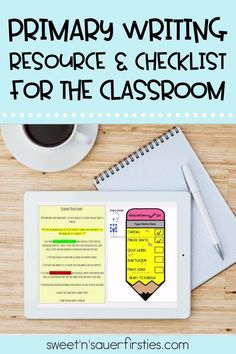 Help your kindergarten and first-grade students self-edit their writing pieces of all genres with this primary writing checklist! This is one of my favorite activities to help with improving our writing block and creating independent writers one check at a time. This is a great resource for independent writing time, writing centers, or writing workshops to help your students work on capitalization, finger spaces, sight words, punctuation, and if their overall writing makes sense.