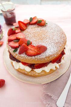 Sponge Cake - Ricetta originale inglese Victoria Sponge Cake