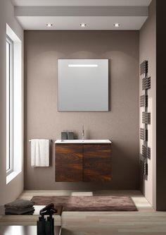piccolo spazio, grande eleganza #bagno #arredobagno #casa #design #madeinitaly #bath #bathroom