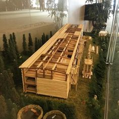 Noah's ark model at the Norco Assembly Hall in California, USA. Photo shared by @xavirrey