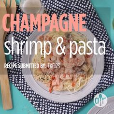 Video clip marketing can supercharge your business. Yet, making the best video, that stands apart, is more than simply shooting and uploading. Shrimp Recipes, Fish Recipes, Pasta Recipes, Cooking Recipes, Recipe Pasta, Romantic Dinner Recipes, Romantic Meals, Champagne Recipe, Champagne Toast