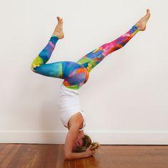 InYo™ - Watercolor Yoga Leggies