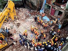 The building collapse in Thane district