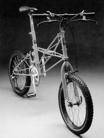 MOULTON Bicycle Company - am atb/the first full suspension mtg, 1988