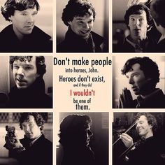 Sherlock is my hero
