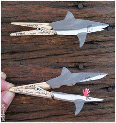 Broche tiburón