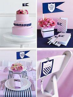 Preppy Birthday ideas