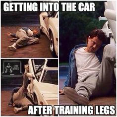 The struggle is real.  #LegDay #SierraFitness